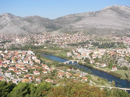 pogled na Trebinje