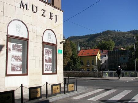 mjesto na kojem je izvrsen atentat na prijestolonasljednika Austro-Ugarske