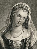 Portrait Of Laura- Petrarch'S Beloved