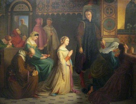 Prvi susret Petrarke i Laure