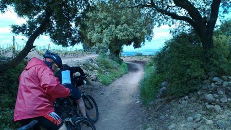 biciklisti na putu