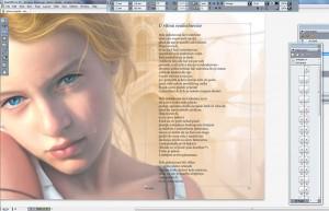 Izgled preloma knjige sa kolornim stranicama. Klikni na sliku za uvećanje.