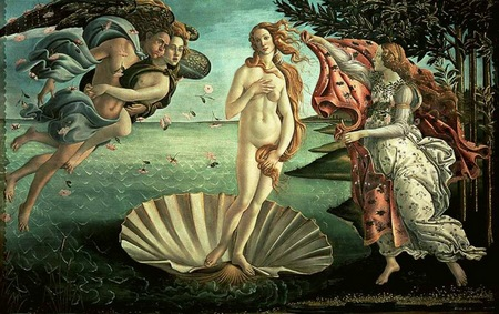 Sandro Bottičelli, Rađanje Venere