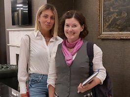 Sladjana Soc i Jelena Petrovic